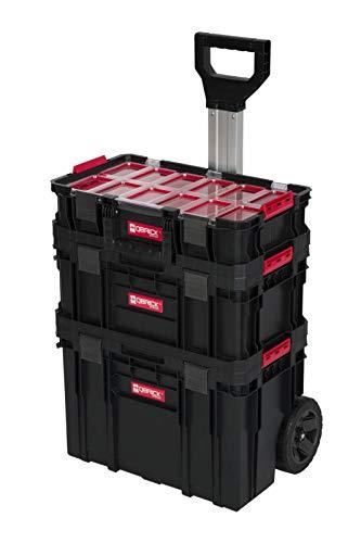 XL Werkzeugtrolley, Werkstattkoffer Set, Werkstattwagen Set aus