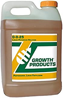 Growth Products 0-0-25 Potassium Fertilizer 2.5 Gallons