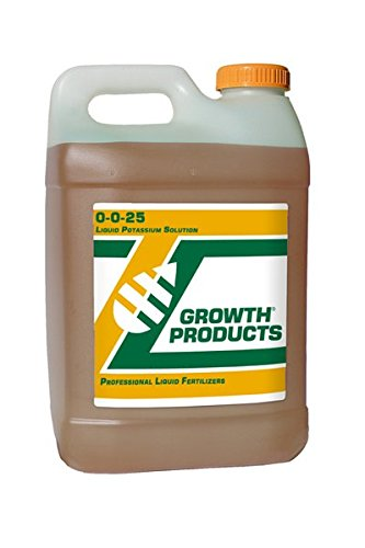 Growth Products 0-0-25 Potassium Fertilizer 2.5 Gallons