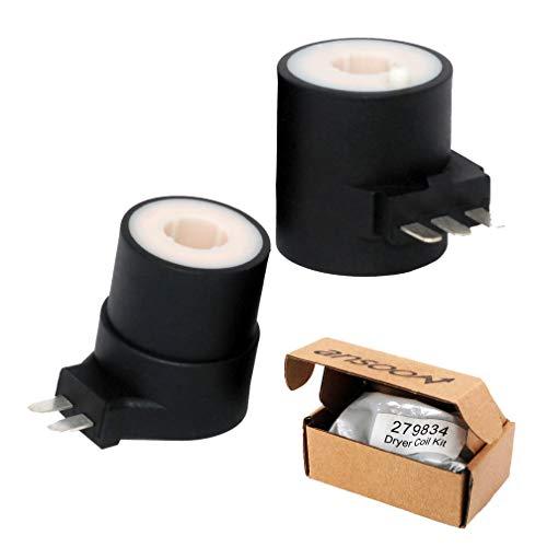 279834 Kit de bobina de válvula de secadora de gas para Kenmore/Whirlpool/Magic Chef/Maytag/Norg