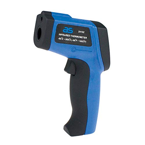 as - Schwabe Profi Infrarot-Thermometer – Kontaktloses Temperatur-Messen von -50 bis +900°C – Infrarot Temperaturmessgerät – Berührungsloses Thermometer – Digitales Infrarot Thermometer – IP20 I 24102