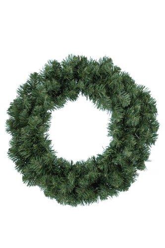 Everlands - Corona di Natale con Albero Imperiale, 35 cm, Colore: Verde