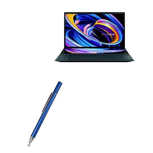 Caneta Stylus BoxWave para ASUS ZenBook Duo 14 (UX482) [FineTouch Capacitive Stylus] Caneta Stylus super precisa para ASUS ZenBook Duo 14 (UX482) - Azul lunar