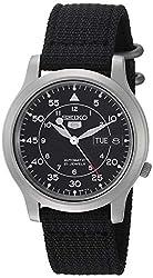 [セイコー] 腕時計 海外モデル SNK809K2 ブラック メンズ [並行輸入品]