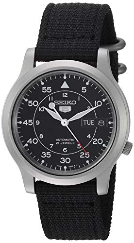 Seiko Men's SNK809 Seiko 5 Automatic Stainless Steel Watch...