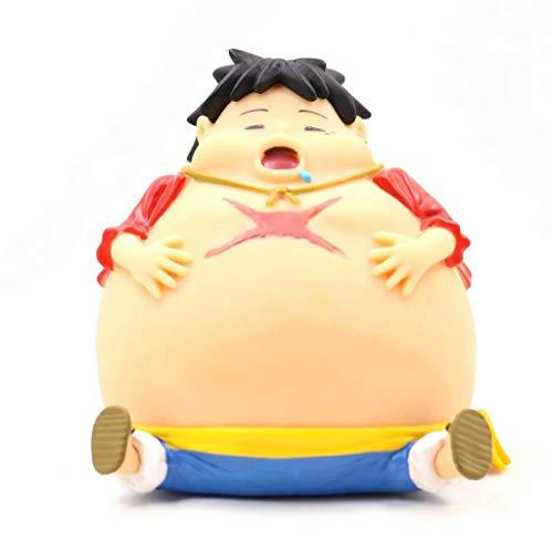 Anime Character - Hucha con Forma de Cerdito de lufei de Gran edición para Adultos y niños, 12 cm, diseño de Anime