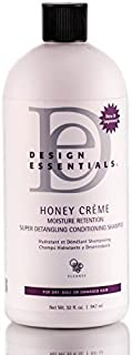 Design Essentials Honey Creme Moisture Retention Super Detangling Conditioning Shampoo 32oz by Design Essentials