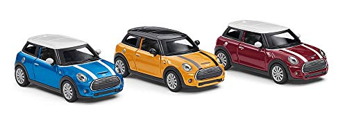 Mini Original Cooper S Pull Back terugtrekauto modelauto miniatuur 1:36 collectie 2018/2020