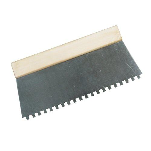 Silverline 515781 - Espátula dentada para encolar (Dientes 6 mm)