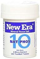 New Era Number 10 Nat. Phos. Tablets - Pack of 240
