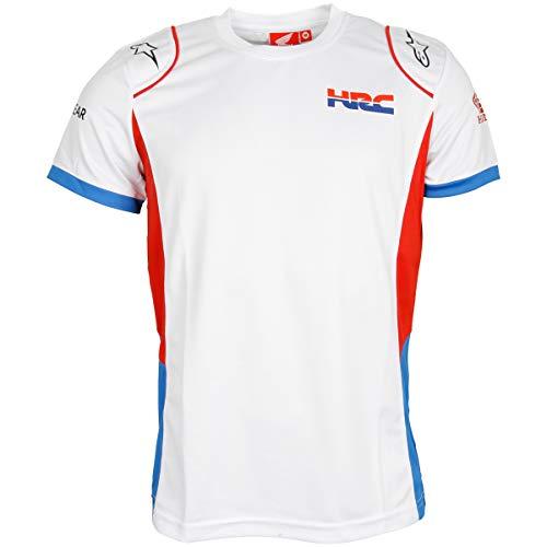 HRC Racing Teamwear T-Shirt - Weiß - XL