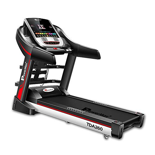 PowerMax Fitness® TDA-260 Series (2.0HP) Multi-Function Motorized Treadmill (FREE INSTALLATION)【Auto Lubrication | BMI | Auto-Incline | Android OS】Running Machine for Max Pro-Workout by Walk, Run & Jog at Home
