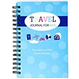 Travel Journal for Kids- Fun and Easy Way to Document Several Childhood Vacations in One Journal (Teal and Blue)