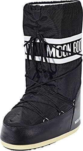 Moon Boot Nylon, Botas de Nieve Niñas
