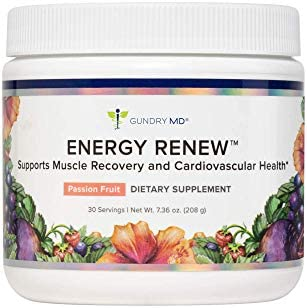 Gundry MD Energy Renew Muscle Recovery and Cardiovascular Health Support Supplement 30 Servings product image