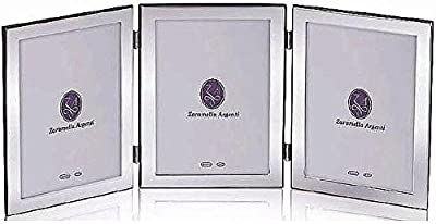 LONDON pure Italian Sterling Silver Triple-Panel by Zaramella Argenti® ...