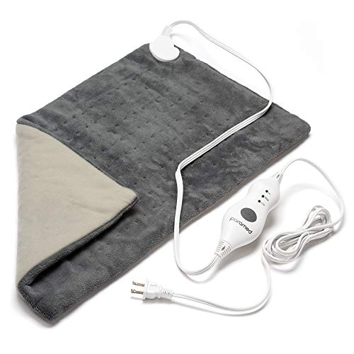 "PARAMED Heating Pad XL King Size by Paramed - Extra Large 12"" x 24"" - Dry Heat Therapy Functions & Auto Shut-Off - for Neck, Back, Shoulder, Menstrual Pain & Sore Muscle Relief – Washable"
