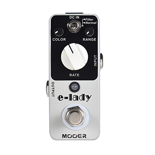 CAMOLA Mooer e-lady Classic Analog Flanger Guitar Effect Pedal 2 Modes True Bypass