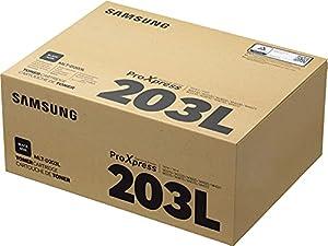 Samsung SU897A MLT-D203L High Yield Toner Cartridge, Black, Pack of 1