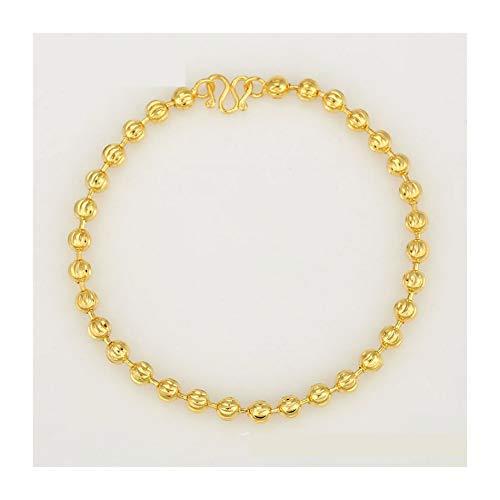 Armband van 18-karaats geelgoud, voor heren, 18 karaat, ketting, armband.
