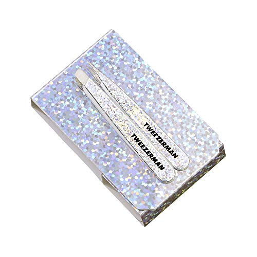 Price comparison product image Tweezerman Holly-Graphic Micro Mini Tweezer Set (Slant & pt. Tip Tweezer)