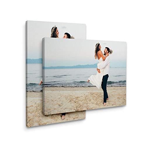 Stampe su tela Immagini personalizzate su tela, quadri su tela personalizzati pronti da appendere (20x15cm)