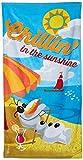 Disney congelado 140 x 70 cm Olaf Chillin en el Sunshine La playa y toalla de baño...