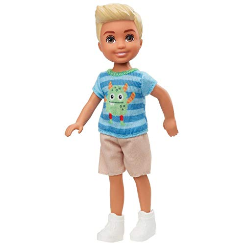 Barbie Muñeca Club Chelsea 15cm - Rayas Azules