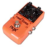 NUX Time Core True Bypass Guitar Effect Pedal with 7 Delay Effects