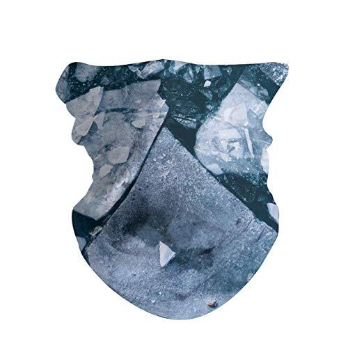 HAOZI - Máscara mágica para esquí, 2 unidades, máscara de pesca, máscara fina, calentador de cuello, para ciclismo, motocicleta, actividades al aire libre, tubo de microfibra, calentador de cuello, color Led Ldina Voda, tamaño 50 CM x 25 CM