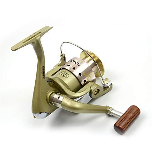 YRODYU Fishing Spinning Reel, Front Drag Lichtgewicht Krachtige Vishengel Combos voor Carp Rock Lure Vissen Links en Rechts Hand Verwisselbaar