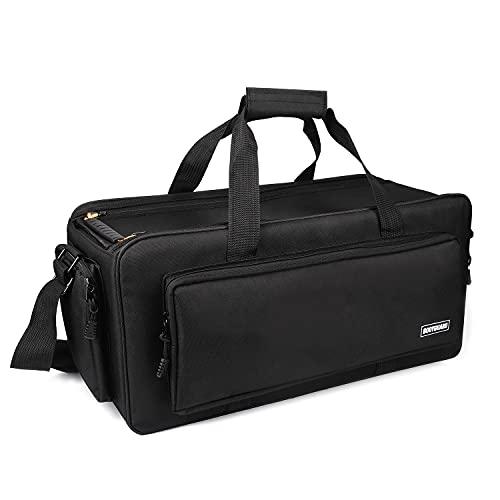 Bodyguard Videotasche XXXL Jupiter Fototasche groß für große Foto und Videokamera Tasche mit Variable Inneneinteilung für 9 Fächer