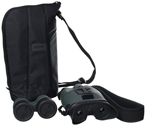 Yukon Tracker 3.5x40 - Prismáticos con visión Nocturna (12,3 cm), Color Negro y Verde