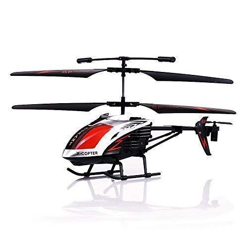 GPTOYS G610 11' Durant Built-in Gyro Infrared Remote Control Helicopter Large Model 3.5 Channels with Gyro and LED Light for Indoor Ready to Fly