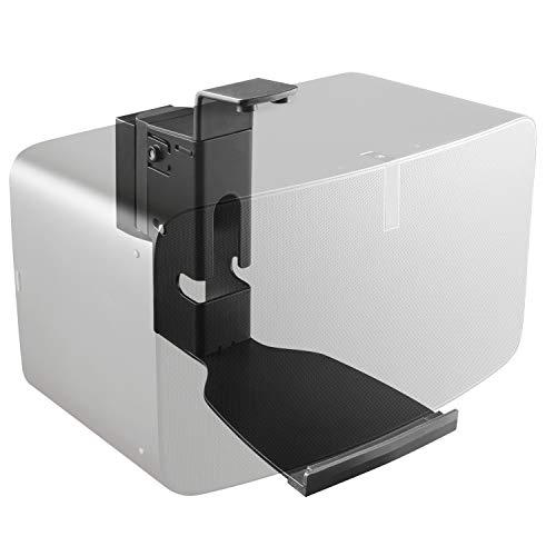 RICOO Lautsprecher Wand-Halterung für SONOS Play:5 Gen.2 bis 7-Kg (LH505-B) Boxen-Wand-Halter Schwenkbar Neigbar WLAN Airplay Speaker Wall Mount