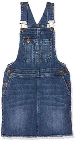 Tommy Hilfiger Dungaree Dress Poabst Vestido para Niñas