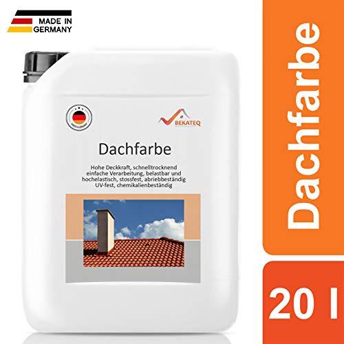 BEKATEQ BE-510 Dachbeschichtung seidenmatt Dachfarbe für diverse Arten von Dächern (Beige / 2,5L)