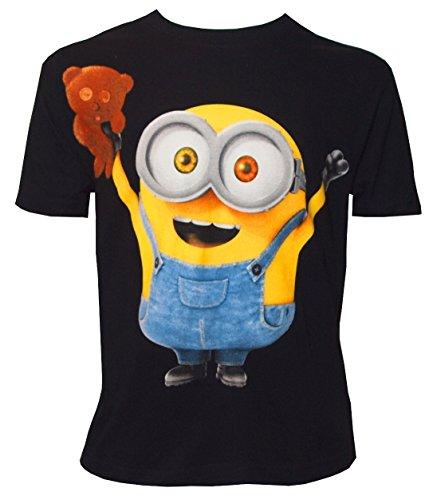 Minions Kinder T-Shirt Bob mit Bär (140/146)