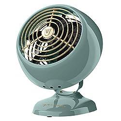 Vornado VFAN Mini Classic Personal Vintage Air Circulator Fan, Green