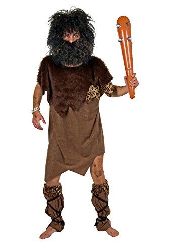 Festartikel Müller Herren Kostüm Steinzeitmensch Neandertaler Karneval Fasching Gr.XL