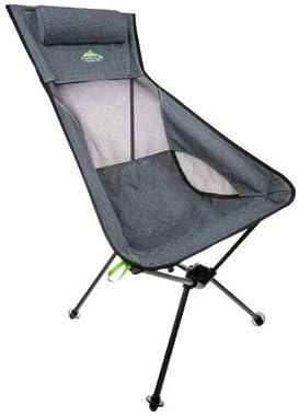 Cascade Mountain Tech Ultralight Packable High-Back Camping Outdoor Chair