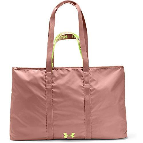 Under Armour, borsa da donna Favorite 2.0, rosa moka (661)/Lime Fizz, taglia unica