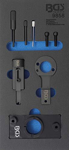 BGS 9858 | Werkstattwageneinlage 1/3: Motor-Einstellwerkzeug-Satz | für Opel 2.0 CDTi / EcoFLEX