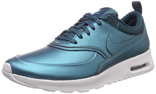 Nike Damen 861674-901 Fitnessschuhe, (MTLC Dark Sea/MTLC Dark Sea/Summit White), 38.5 EU