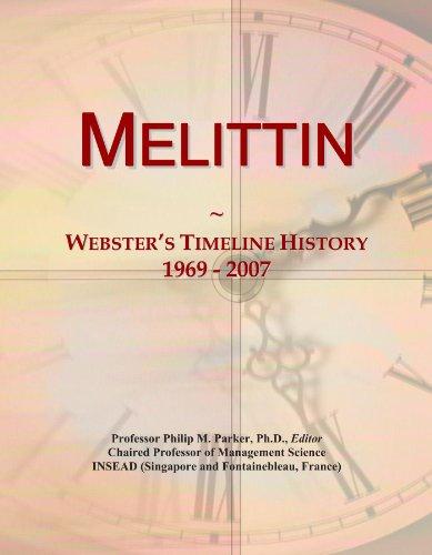 Melittin: Webster's Timeline History, 1969 - 2007