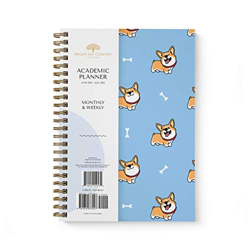 Academic Planner Yearly Monthly ...