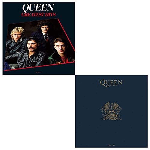 Queen: Greatest Hits 1 & 2 Classic LP Vinyl Album Collection