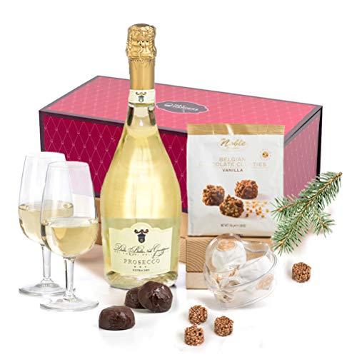 Hay Hampers Prosecco, Chocolates & Pralines Gift Hamper Box
