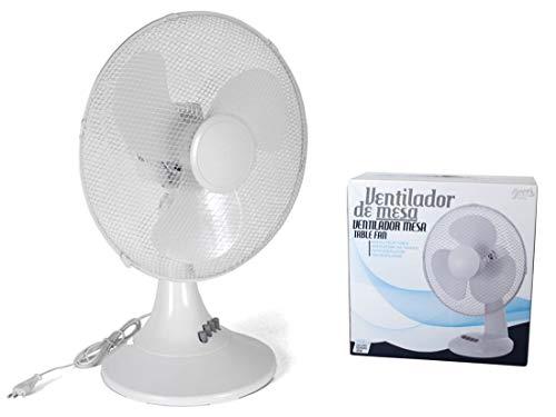 Gerimport Ventilador De Mesa Plastico 45 Vatios 40cm
