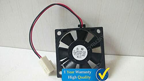 CYRMZAY Compatible for Panasonic UDQFK2H01-QU DC12V 0.08A 35 * 35 * 10MM 2Pin Cooling Ventilador